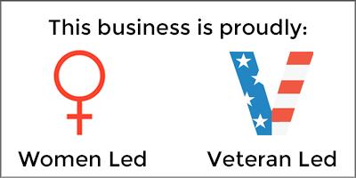 Women & Veteran Led Business